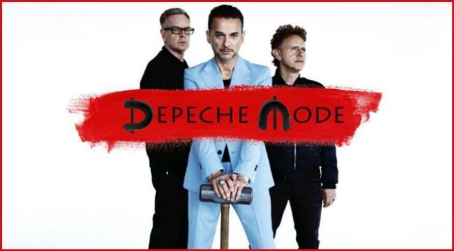 Depeche Mode de regresso ao festival Nos Alive em 2017