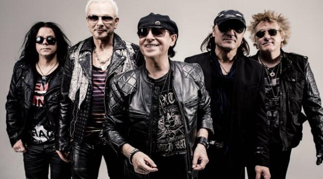 Scorpions no festival MEO Marés Vivas