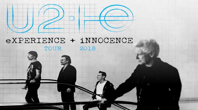 U2 em concerto em Lisboa no Altice Arena 2018