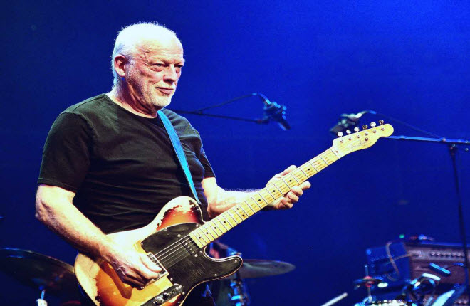 "David Gilmour retoma ""Across the Universe"" e ""Revolution"" dos Beatles"