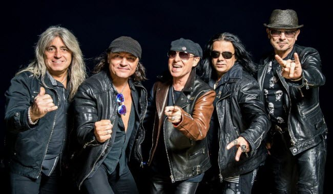 "A banda Scorpions comemora os 30 anos do ""Wind of Change"""